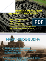 Perkembangan Penulisan Sejarah Indonesia