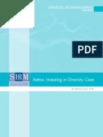 Aetna Diversity Case 1