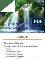 Unidad 4 Presentacion Ambiente Ind 285 Caracterizacion Tratamiento de Aguas Residuales Efluentes