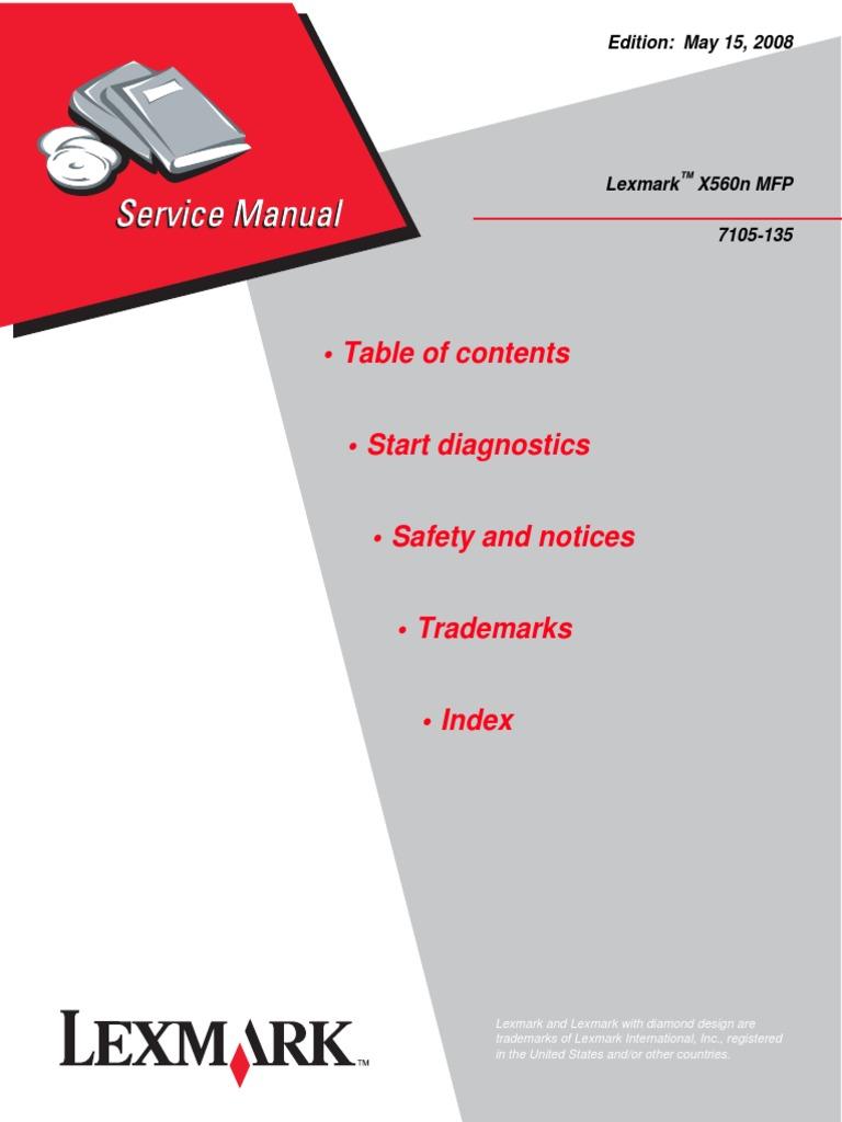 Service manual lex x560 mfppdf implied warranty menu fandeluxe Images