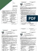 Rol de Evaluaciones 2009 - II Bimestre