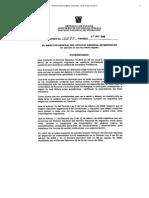 Resolución 10294 - Homologación de Títulos.