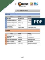 Liga Directv 2015 Programacion Oficial