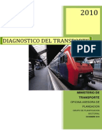 Diagnostico Del Sector Transporte 2010