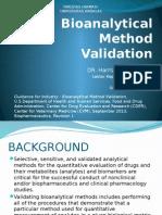 3 - 4 Bioanalytical Method Validation (1)