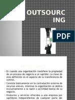 5.2.1 Outsoursing