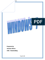 windows 7 notes