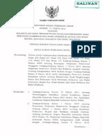 PKPU No.11 Tahun 2015