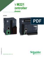 Manual de Usuario TM221
