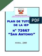 8.- Plan de Tutoria Iep 72667 Sa