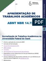 Formatação de Trabalhos Academicos