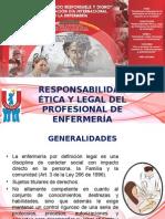 Responsabilidad Etica y Legal de Enfermeria