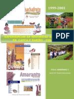 Experiencias Seguridad Alimentaria Cauca y Narino Colombia
