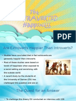 extraverted happiness