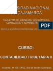Curso Tributaria II