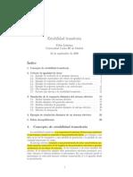 Estabilidad Transitoria de SEP