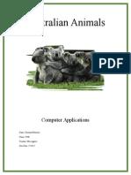 animals text rachael mackey