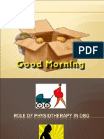 Physio in OBG