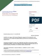 Parasitología latinoamericana - Parásitos en aguas del arroyo Naposta, aguas de recreación y de consumo en la ciudad de Bahia Blanca (Provincia de Buenos Aires, Argentina)