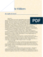 Gerard de Villiers-De Veghe in Israel