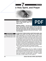 2nd Quarter 2015 Lesson 7 Easy Reading Edition Jesus the Holy Spiritand Prayer