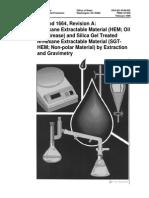 EPA Method 1664