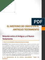 2. El Misterio de Cristo en El Antiguo Testamento