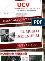 Exposicion MUSEO GUGGENHEIM Normativa Ultimo Piso