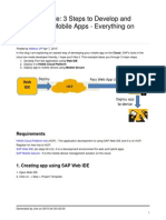 3 Steps to Develop and Deploy Your Mobile Apps End to End
