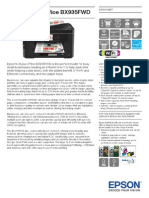 Epson Stylus Office BX935FWD Brochures 2