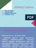 Retribusi Daerah Kelompok 6