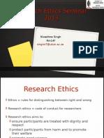 Research Ethics Seminar