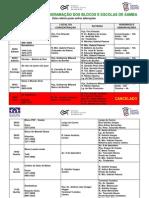 Carnaval 2010 – ProgramaÇÃo Dos Blocos e