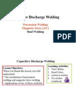 Stud Welding Capacitive Discharge Welding