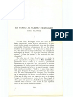 Astrada, Carlos - En Torno Al Ultimo Heidegger