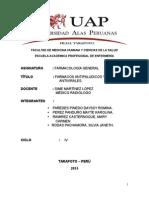 Monografia - Farmacos Antipaludicos y Antivirales