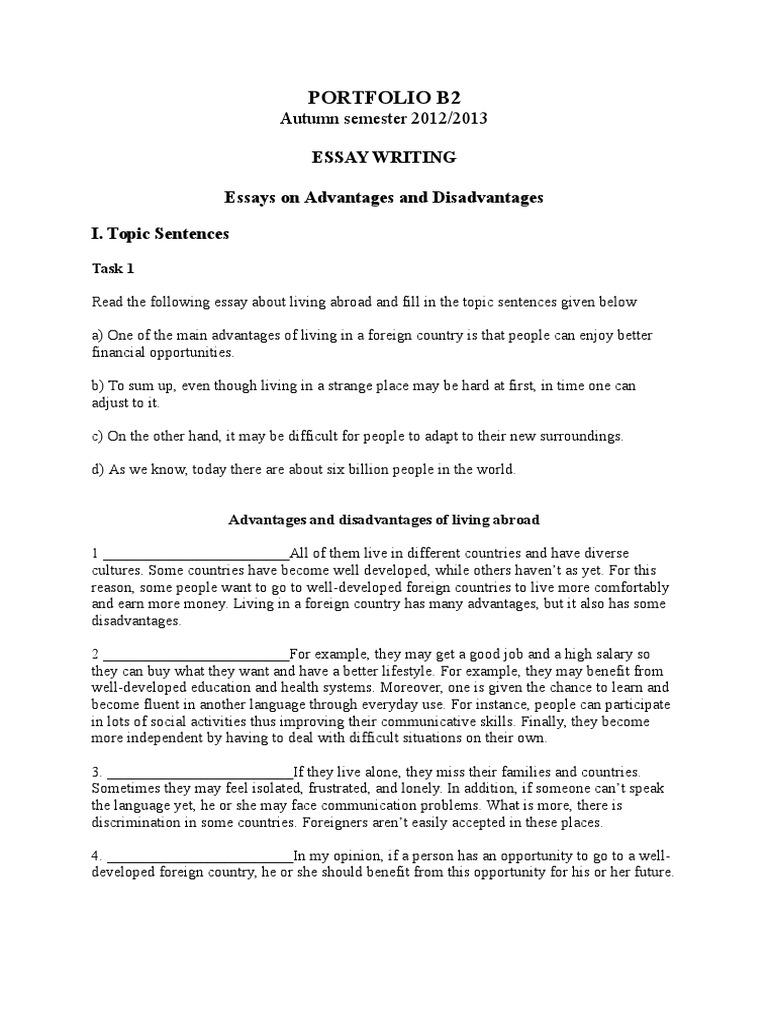 B2 Opinnion Essay | Essays | Recycling