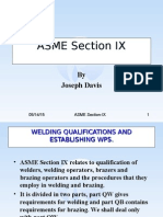 Asme Section Ix