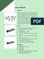 SFP Transceiver Module