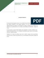 PLANTA CONCENTRADORA DE MINERALES OROGROUP S.A.