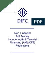 UAE Non Financial Anti Money Laundering/Anti Terrorist Financing (AML/CFT) Regulations 2004