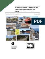 02 Polymer Modified Asphalt Emulsions Main Report