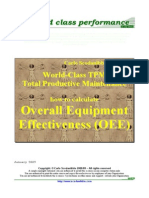 Ecourse TPM How to Measure and Monitor OEE
