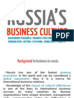 Russia's Business Culture