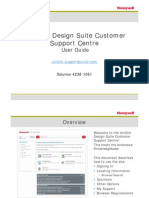 1061 - UniSim® Design Suite Customer Support Centre - User Guide
