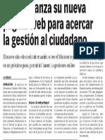 150514 La Verdad CG- Empleo Lanza Su Nueva Web Para Acercar La Gestión Al Ciudadano p.10