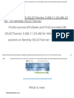ProStructures V8i SELECTseries 3 (08.11.03