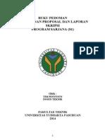 Draft Proposal Dan PanduanSkripsi Informatika UYP