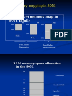 8051 Memory Organization