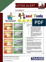 85 Bsu Best Practice Alert - Hand Tools Safety